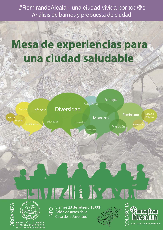 Remirando Alcalá: barrios habitables y ciudad inclusiva