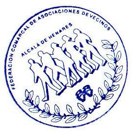 Web de la Federación Comarcal de Asociaciones de Vecinos/as de Alcalá de Henares