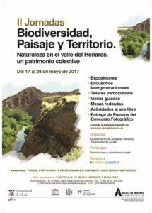Cartel II Jornadas de Biodiversidad en Medio Ambiente