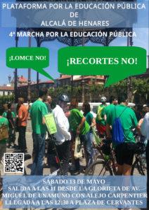 Educación: IV Marcha del Lápiz Verde