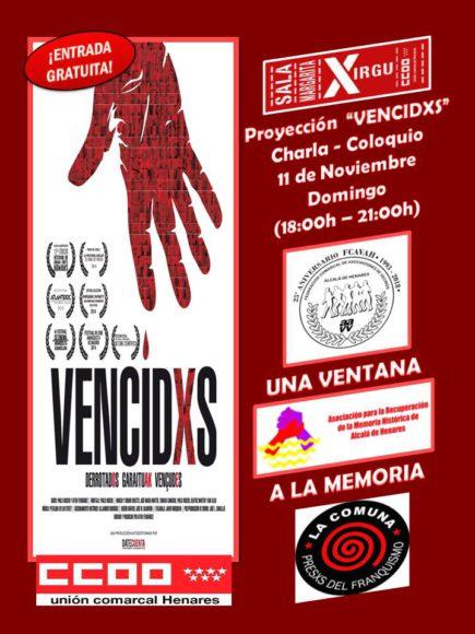 Cartel de Vencidxs 25 aniversario FCAVAH